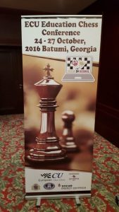 Konferencja Komisji Edukacji Europejskiej Unii Szachowej – Batumi