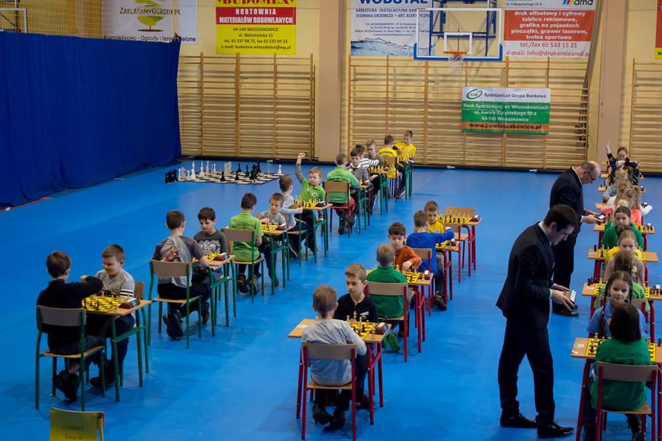 """I Mistrzostwa Województwa Szkół Projektu """"Edukacja przez Szachy w Szkole"""" – Włoszakowice"""
