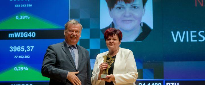 Hetman w kategorii Nauczyciel Roku dla – Wiesławy Walkowskiej!