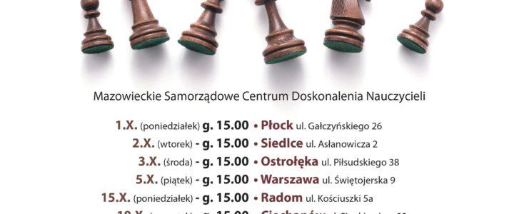 """Seria spotkań z cyklu """"Zagraj z Arcymistrzem"""""""